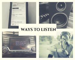 Ways to Listen to DNR