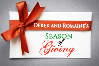 Derek and Romaine's Season of Giving